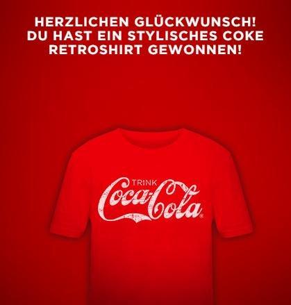 Coca Cola Retroshirt
