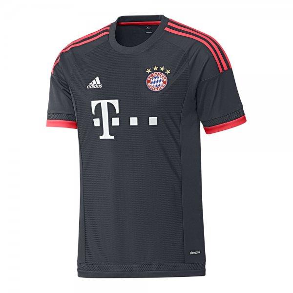 Bayern München 15/16 CL-Trikot (49,16€) + Auswärts-Trikot (49,45€) [Vaola]
