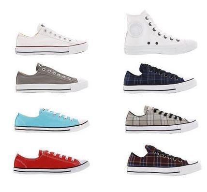Converse All Star Chucks und Slip On Herren & Damen Sneaker 8 Modelle