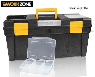 Aldi-Süd: Workzone Werkzeugkiste für 9,99 Euro - ( =Allit McPlus Promo 23 - 21,88 Euro)