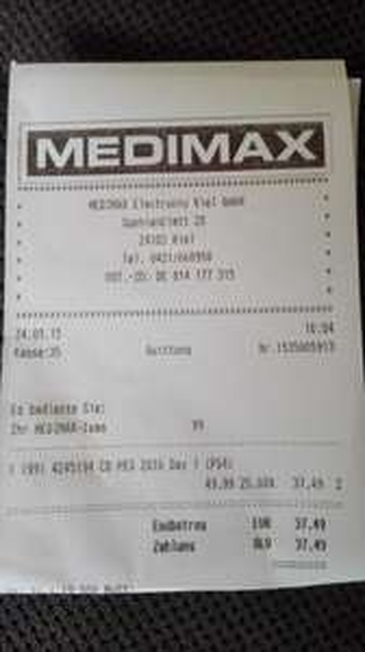 [lokal/offline MediMax Kiel] PES16 DayOne Edition für 37,49€