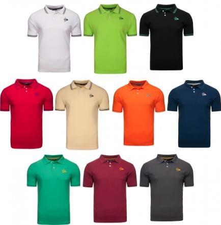 [Outlet46] Dunlop Poloshirt in 10 Farben für 9,95€ inkl. VSK statt 13,46€