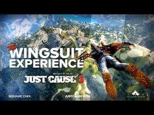 [iOS/Play Store] Just Cause 3 – Wingsuit Experience [360° VR View Video]
