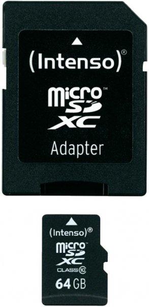 [Mediamarkt] Intenso microSDXC 64GB Class 10 inkl. SD-Adapter für 15€ versandkostenfrei