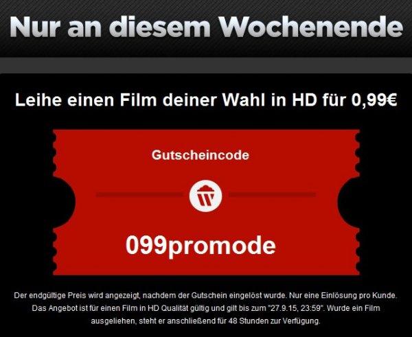 [WUAKI.tv] einen Film nach Wahl in HD für 0,99€