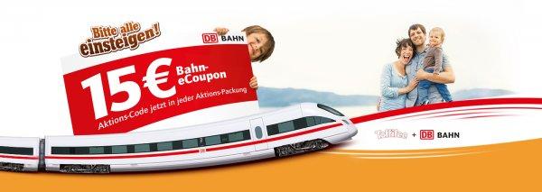 Toffifee Deutsche Bahn Gutscheincode 15€ ab 59€ Fahrkartenwert zu verschenken