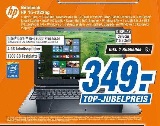 Lokal Expert Holzminden HP 15-r222ng I5 4gb 1000 gb hdd