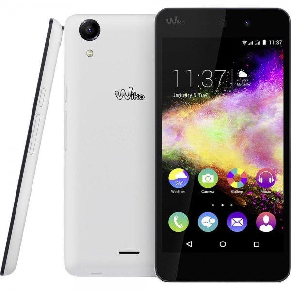"""Wiko Rainbow UP - 5"""" HD Display, LTE + Dual Sim, 4x 1,3 GHz, 8 GB Speicher (erweiterbar), 8MP Kamera mit LED-Blitz, Android 5 für 120€ bei Amazon.it"""