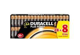 DURACELL / 018396 Plus Power- AA / 36 Stück / @Media Markt Online