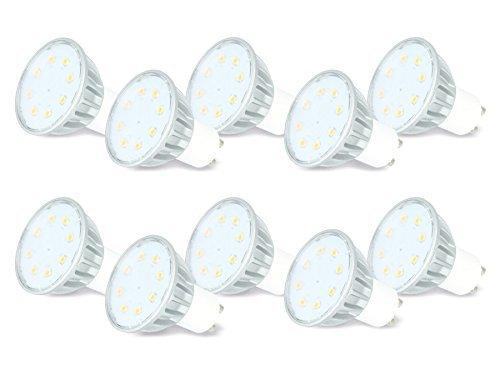 [Blitzangebot] Daylite GU10-340WW LED-Lampe 10 Stück, 3,8 Watt Energieklasse A++, 34,95 EUR @ amazon