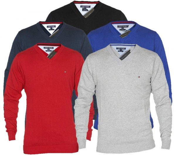 Tommy Hilfiger Herren Pullover Pacific V Neck Sweater S - XXL für 19,80 € statt UVP 99,95 €