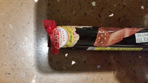 Kl.McCafe Cappucino zu Lindt Schokolade gratis