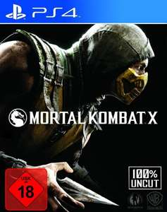 [Grooves-Inc] Mortal Kombat X (PS4, UK-Version) für 33,27€
