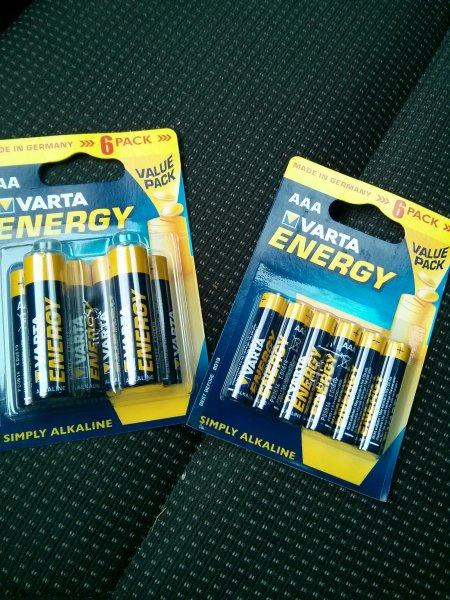[Lokal Hi(evtl. Bundesweit)] Varta Energy 6er Pack AA / AAA zu 1€