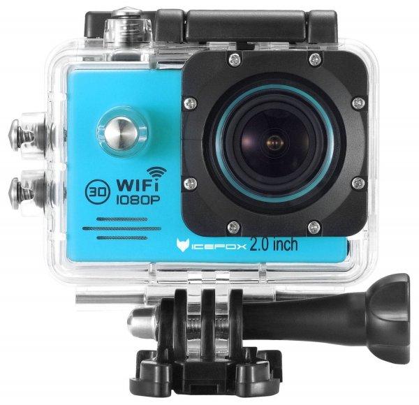 Amazon: icefox Action Kamera Wasserdichte Wi-Fi Action-Kamera mit 12 MP, 1080P,  LCD, mit  Accessories-Kit