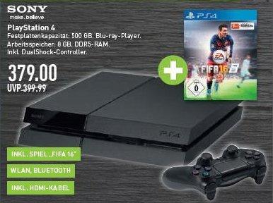 Sony PS4 incl. Fifa 2016 bei Marktkauf in NRW 379,00