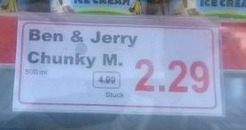[Lokal] NL - Terhuurne Markt: Ben&Jerry`s Chunky Monkey 2,29