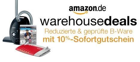 [Amazon] 10% Rabatt auf ausgewählte Warehouse-Artikel