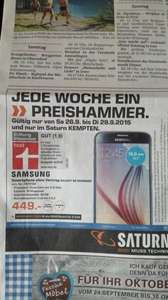 Samsung Galaxy S6 Saturn Kempten 26.9.-29.9.