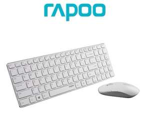 Rapoo E9300P Wireless Optical Tastatur + Maus weiß