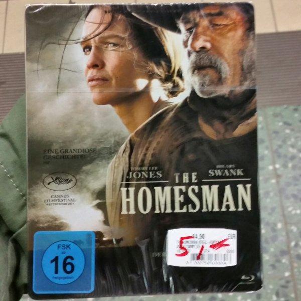 [lokal Hamburg] MM - Altona / The Homesman Blu-ray Steelbook