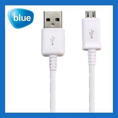 Samsung Micro USB Datenkabel, schwarz oder weiß.