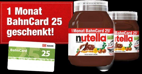 Lasst die Nutella-Gutscheine nicht verfallen: Bis 29. 9. weitergeben, bis 30. 9. aktivieren, bis 30. 11. fahren        (Nutella, Bahn, Bahncard)