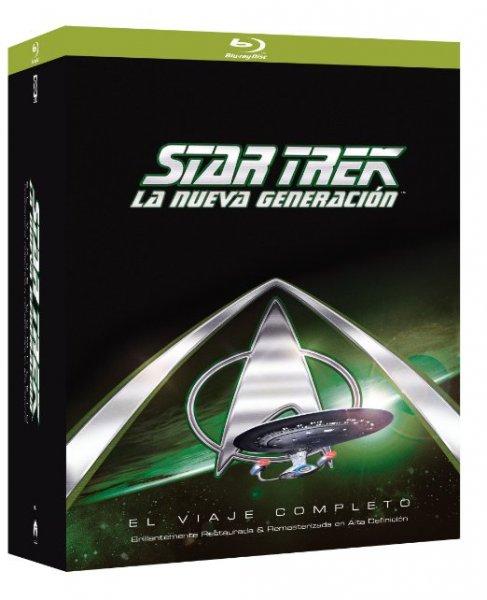 Star Trek: The Next Generation [Blu-ray] - Komplette Serie (41 Discs) Staffeln 1-7 für 90,30 € > [amazon spanien]