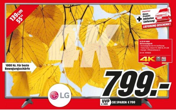 [Lokal ? Mannheim] UHD TV - LG 55 UF 6809 799 Euro inkl. Lieferung