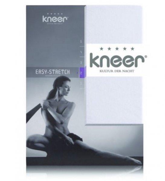 Kneer Easy Stretch Spannbetttuch Übergröße 180-200 x 200 cm auch für Wasserbetten geeignet