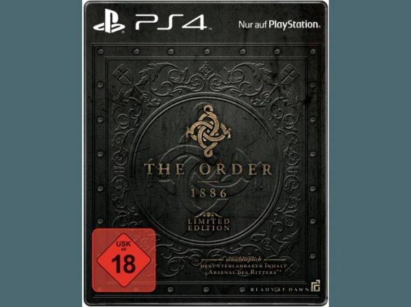 [Saturn Only Online Offers] The Order: 1886 Arsenal des Ritters (Limited Edition) - PlayStation 4 für 24,99€ Versandkostenfrei ab 20.00 Uhr