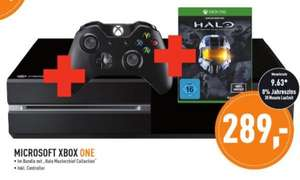 [Lokal Unna, Dortmund, Hagen u.a. - BERLET]  Xbox One Konsole 500 GB inkl. Halo - The Master Chief Collection 289 EUR