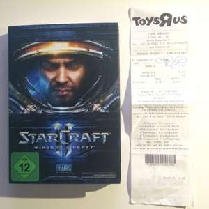 "[Lokal Derendorf] Star Craft 2 Wings Of Liberty TOYS ""R"" US für 4,97"