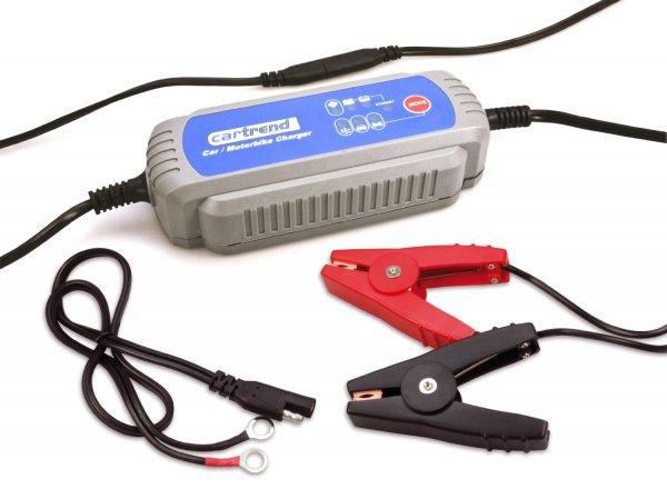 [amazon.de] Cartrend 50132 Mikroprozessor Ladegerät MP 3800 für 12V Batterien IP65