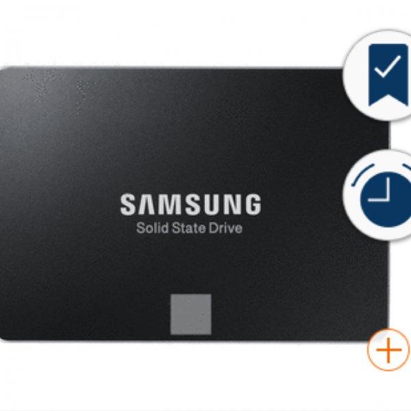 Samsung 850 EVO 500GB SSD 130,90 bei RAKUTEN. VGP155,99 + Qipu 1,5%!