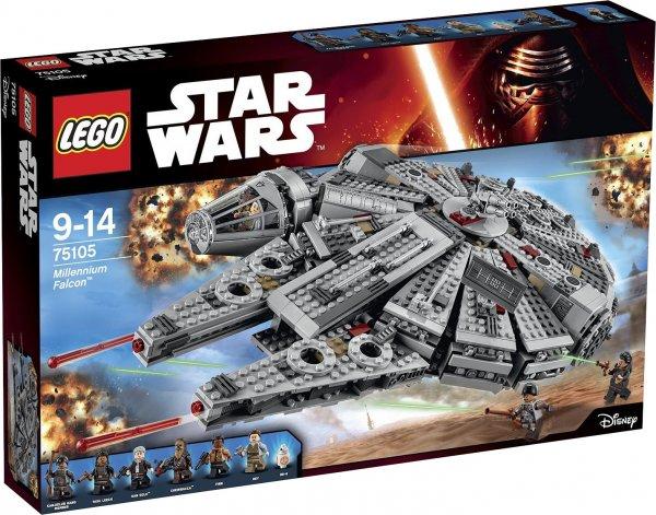 LEGO Star Wars Millennium Falcon 75105 @Kaufhof ab 106,54 € mit qipu