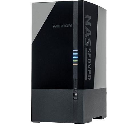 MEDION LIFE P89634 MD 90221 2 x 2 TB (4 TB) NAS & USB 3[B-Ware]