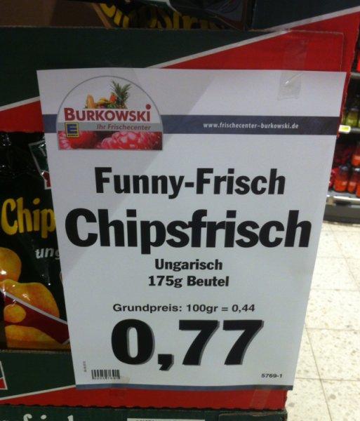 [Bochum] Funny-Frisch Chipsfrisch ungarisch 175 g nur 0,77 €