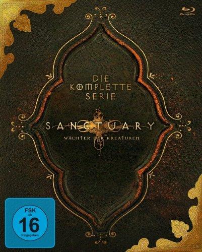 (Amazon.de) Sanctuary - Die komplette Serie auf Blu-ray für 44,97€