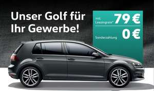 vw gesch ftsleasing golf 1 2tsi ohne anzahlung 79 mwst. Black Bedroom Furniture Sets. Home Design Ideas