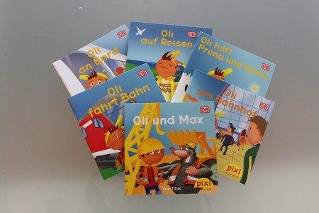 Deutsche Bahn  - 6 Kostenlose Pixibücher für Kinder