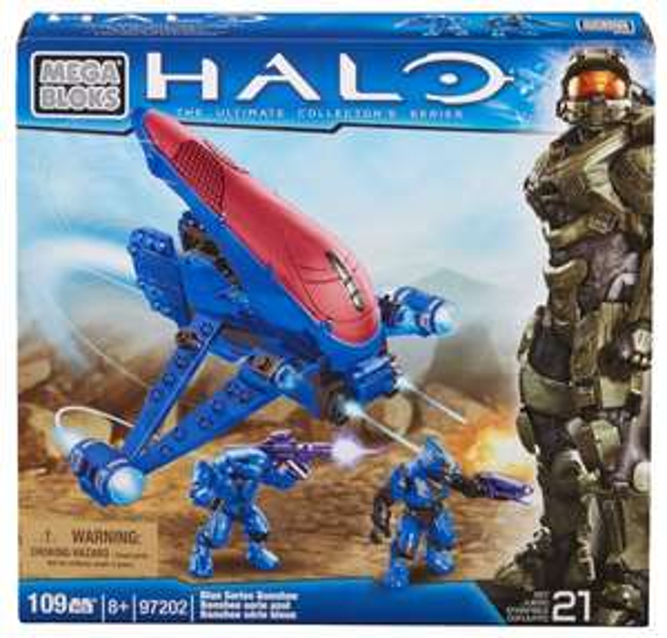 (Spielzeug/Prime) Mega Bloks Halo Blue Series Banshee 8,64 €