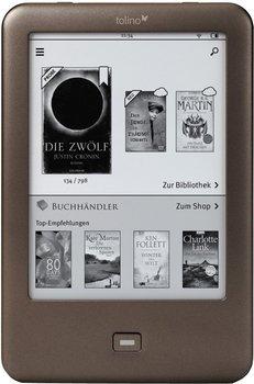 Tolino Shine für 68€@Weltbild - E-Reader mit Hintergrundbeleuchtung