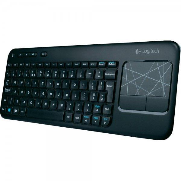 Logitech K400 Wireless Touch Tastatur für 22,44€ bei Conrad.de