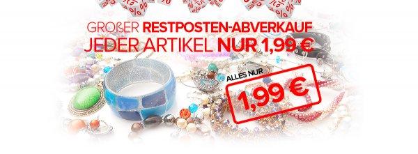 """SILVITY RESTPOSTEN-ABVERKAUF SONDERAKTION """"heart""""-Emoticon - Schmuckstücke für 1,99 €"""