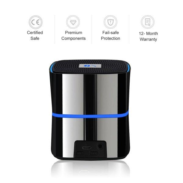 Amazon.de: Mobiler Bluetooth Lautsprecher für 15€ inkl. Versand (mit Gutscheincode)