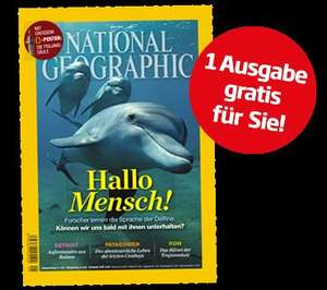 "1 Gratisheft ""National Geographic"""