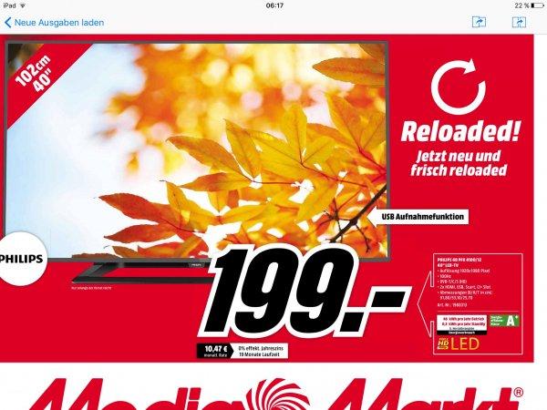 [Lokal Leipzig]  Philips 40PFK4100 MediaMarkt Neueröffnung 30.09.