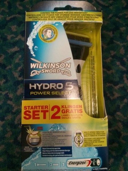 [Rossmann Green Label] Wilkinson Hydro5 Power Select + 3 Klingen