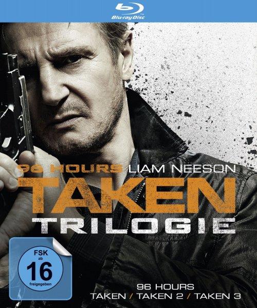 96 Hours - Taken Trilogie (Taken / Taken 2 / Taken 3) (Digipak) [3 Blu-rays] für 19,99 € > [amazon.de & saturn.de] > Prime u. Abholung